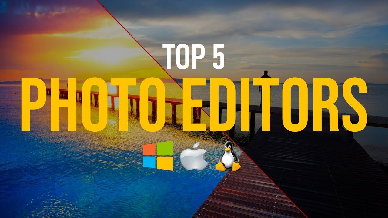 Top 5 Best FREE Photo Editing Software YouTube Free