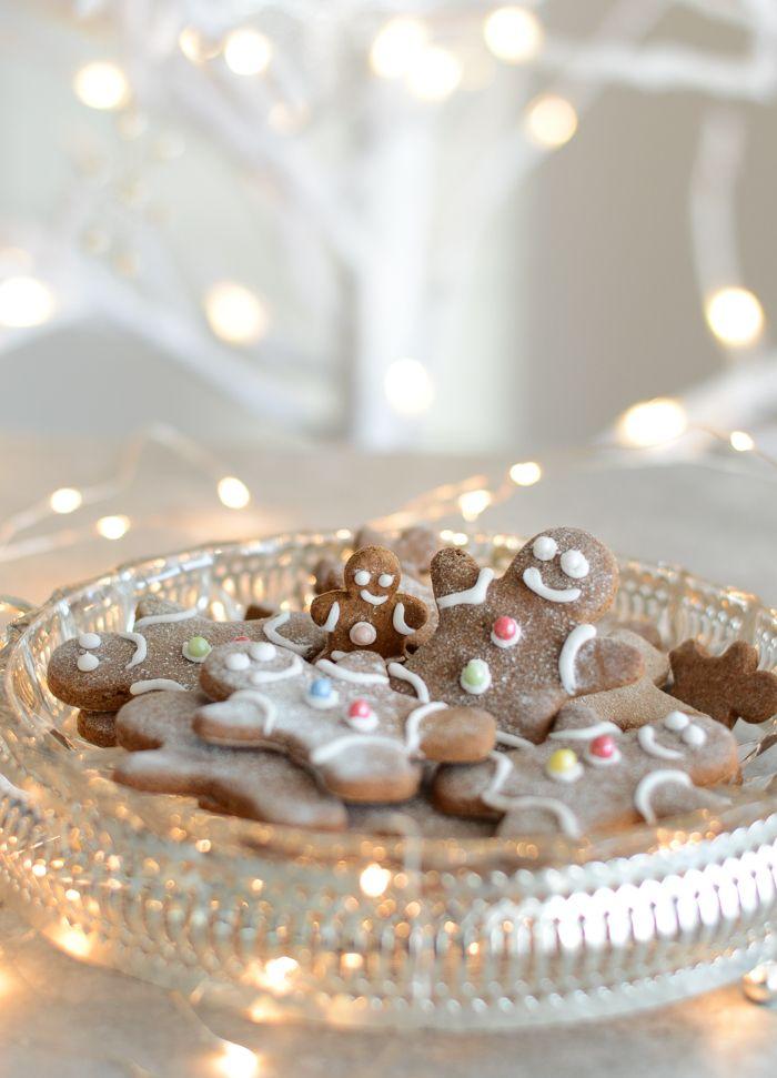 Healthy gluten & sugar free gingerbread cookies #glutenfree #sugarfree #gingerbread