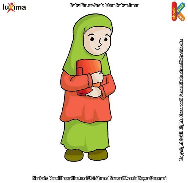Paling Keren 30 Gambar Kartun Berhijab Membawa Buku Gambar Al Quran Kartun Gambar Islami Download Hijab Vectors Photos And Kartun Gambar Kartun Kartun Hijab
