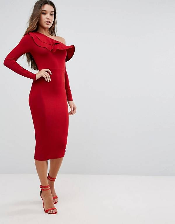 Midi bodycon dress wedding