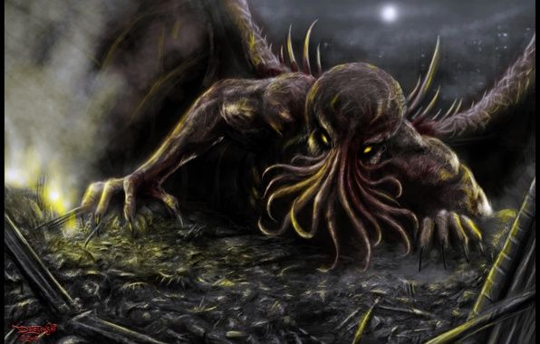 Wallpaper Cthulhu Necronomicon Lovecraft Wallpapers Miscellanea