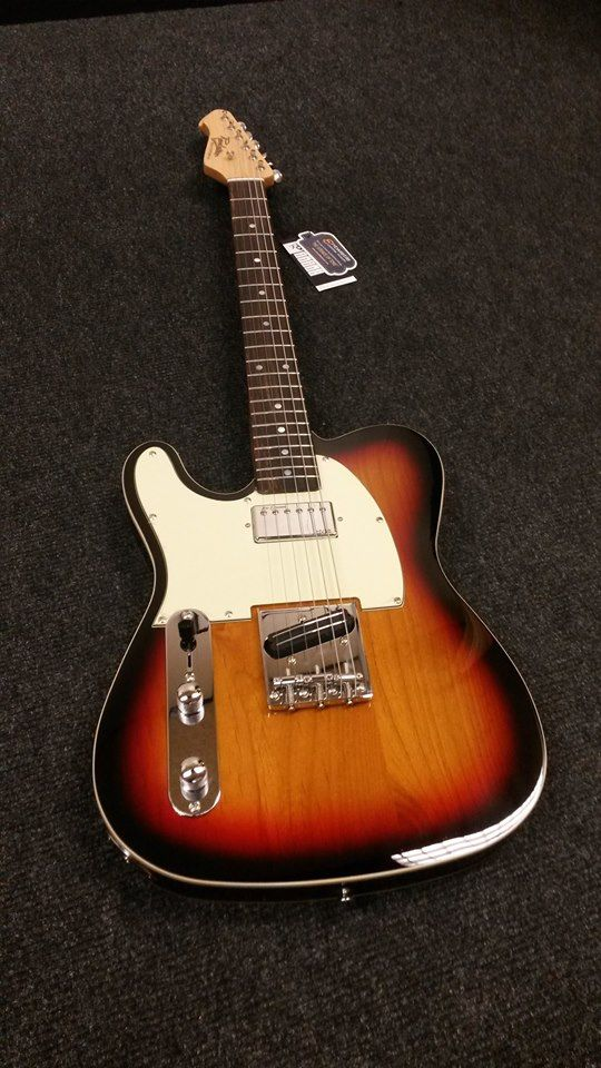 Left Handed Revelation Telecaster One Of The Few Affordable Lefty Teles Out There Available In The Uk With Humb Guitar Left Handed Telecaster Electric Guitar
