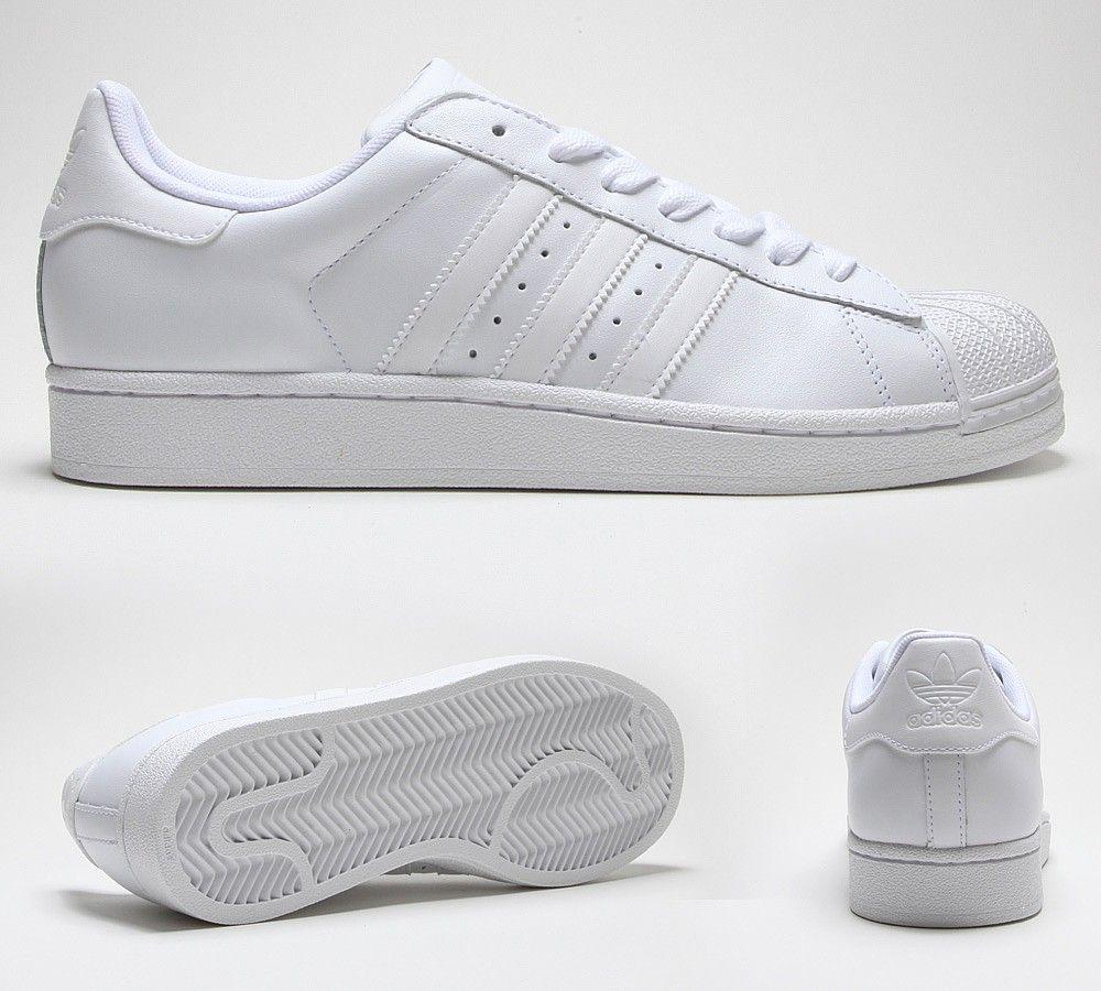Adidas Originals Superstar 2 Trainer | Adidas superstar all white ...