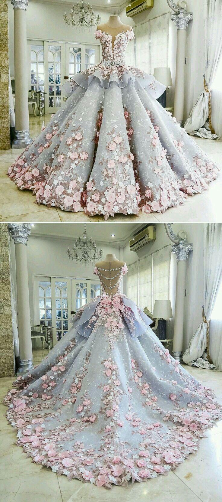 Pin von Eda auf Kleid  Ballkleid, Schöne kleider, Brautkleid