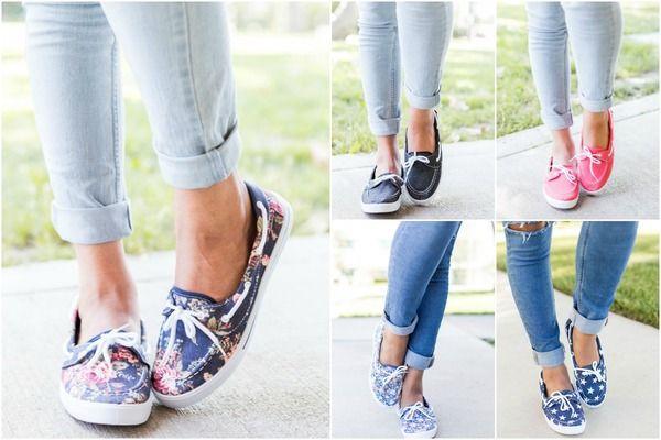 Summer Slip-On Boat Shoes