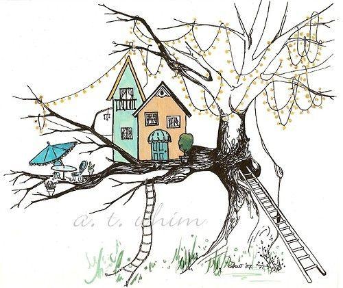a minha casa da árvore...
