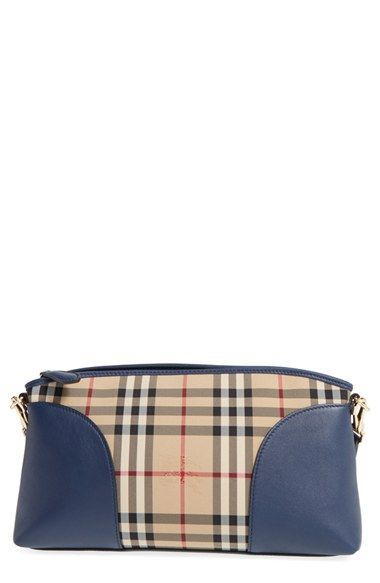 BURBERRY  Horseferry Chichester  Leather   Nylon Crossbody Bag.  burberry   bags  shoulder bags  leather  nylon  crossbody 60648320be447