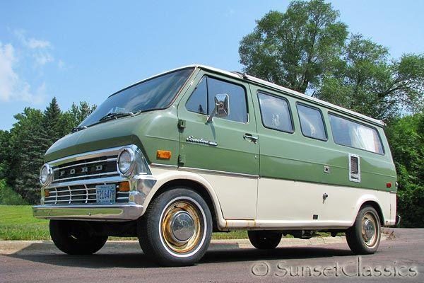 1973 Ford E200 Econoline Supervan Turtle Top Camper Ford Van