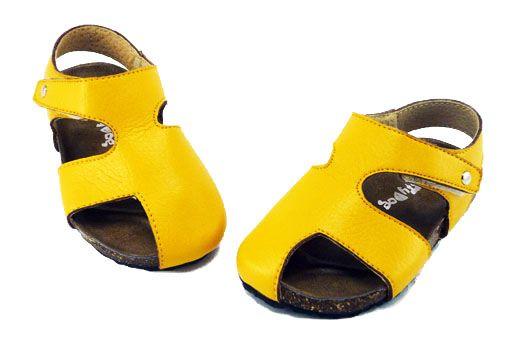 Kids Sandal - Buddy Yellow.