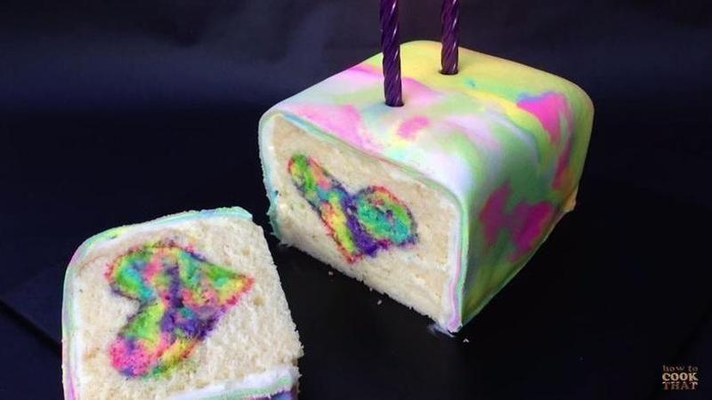 Rainbow kuchen rezept deutsch