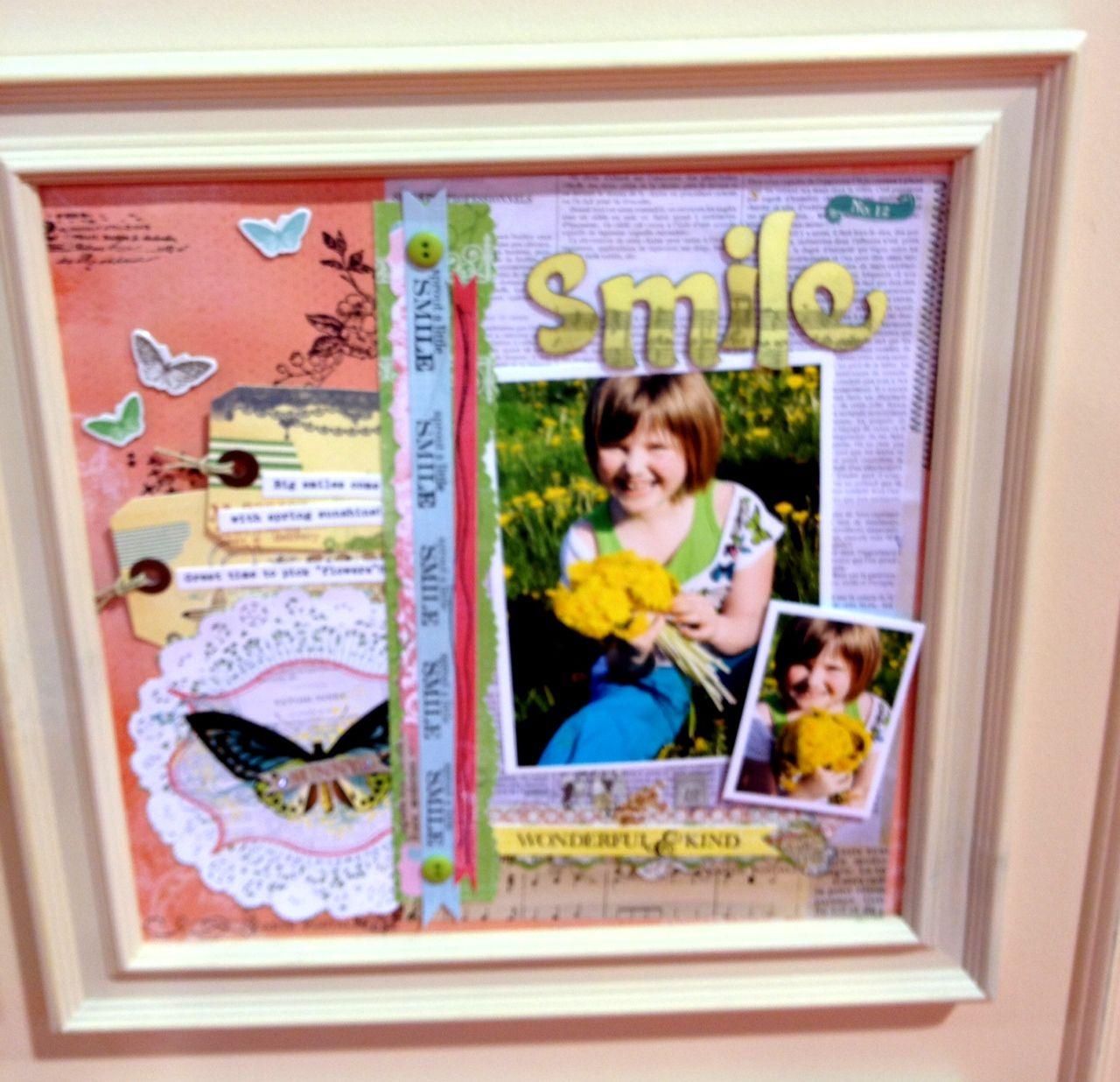 NEW Pink Paislee CHA - Smile - Scrapbook.com | Trade Show Sneak ...