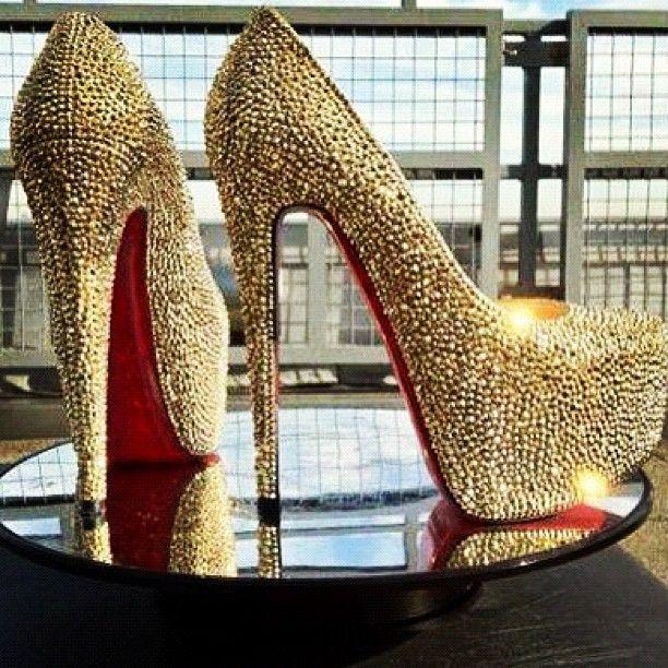 fashion shoes heels sparkles
