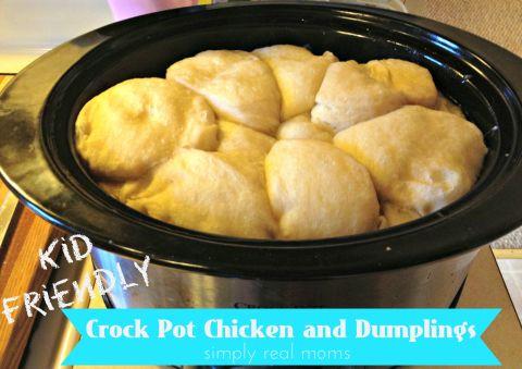 Crock Pot Chicken and Dumplings #crockpotmeals
