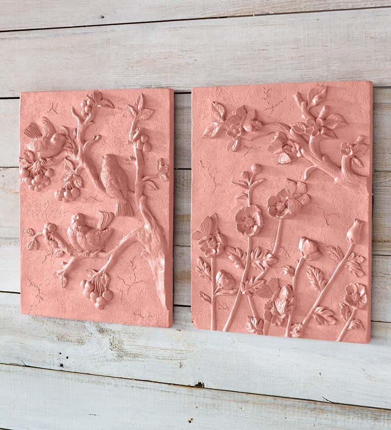 Decorative Terra Cotta Wall Plaque