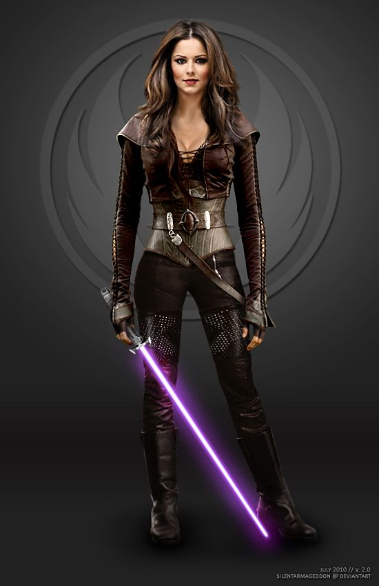 Star Wars Female Jedi Sexy | Cheryl Tweedy - Jedi Knight v2 by ~ SilentArmageddon