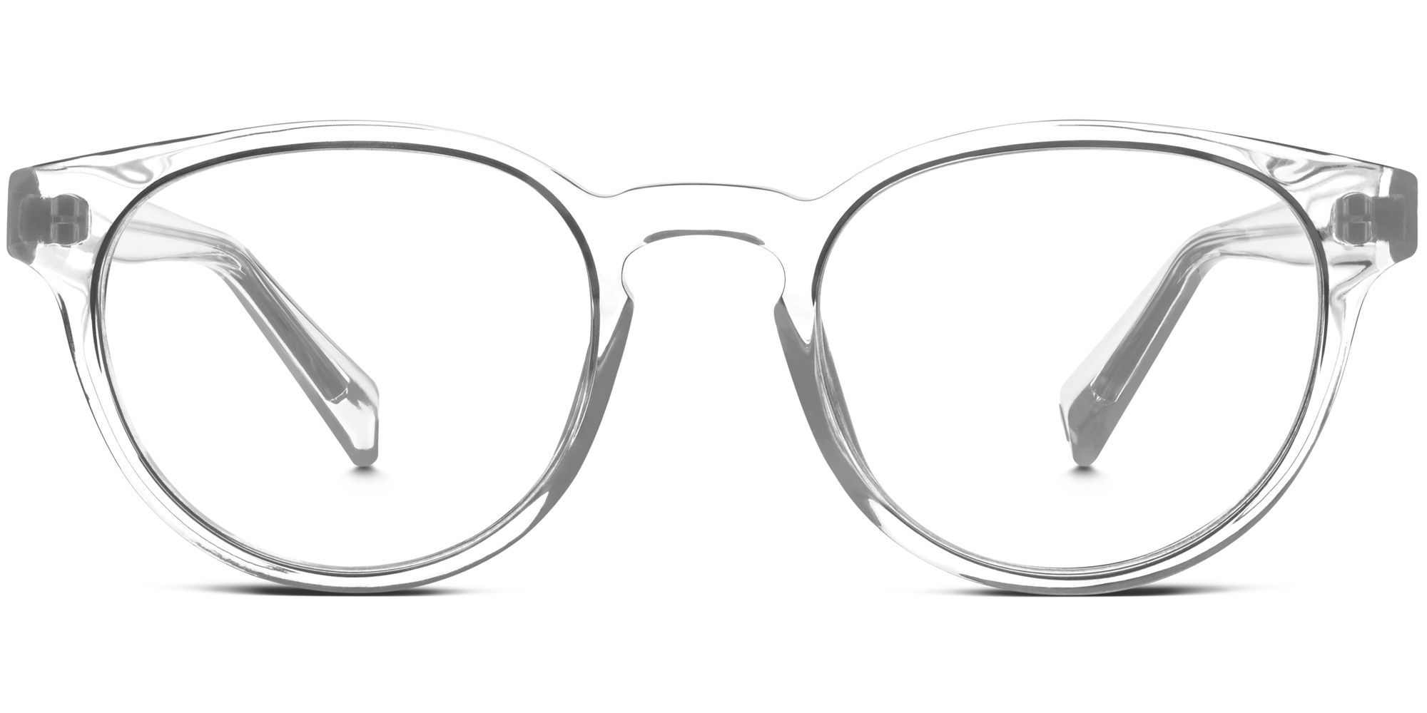 percey eyeglasses in crystal for women