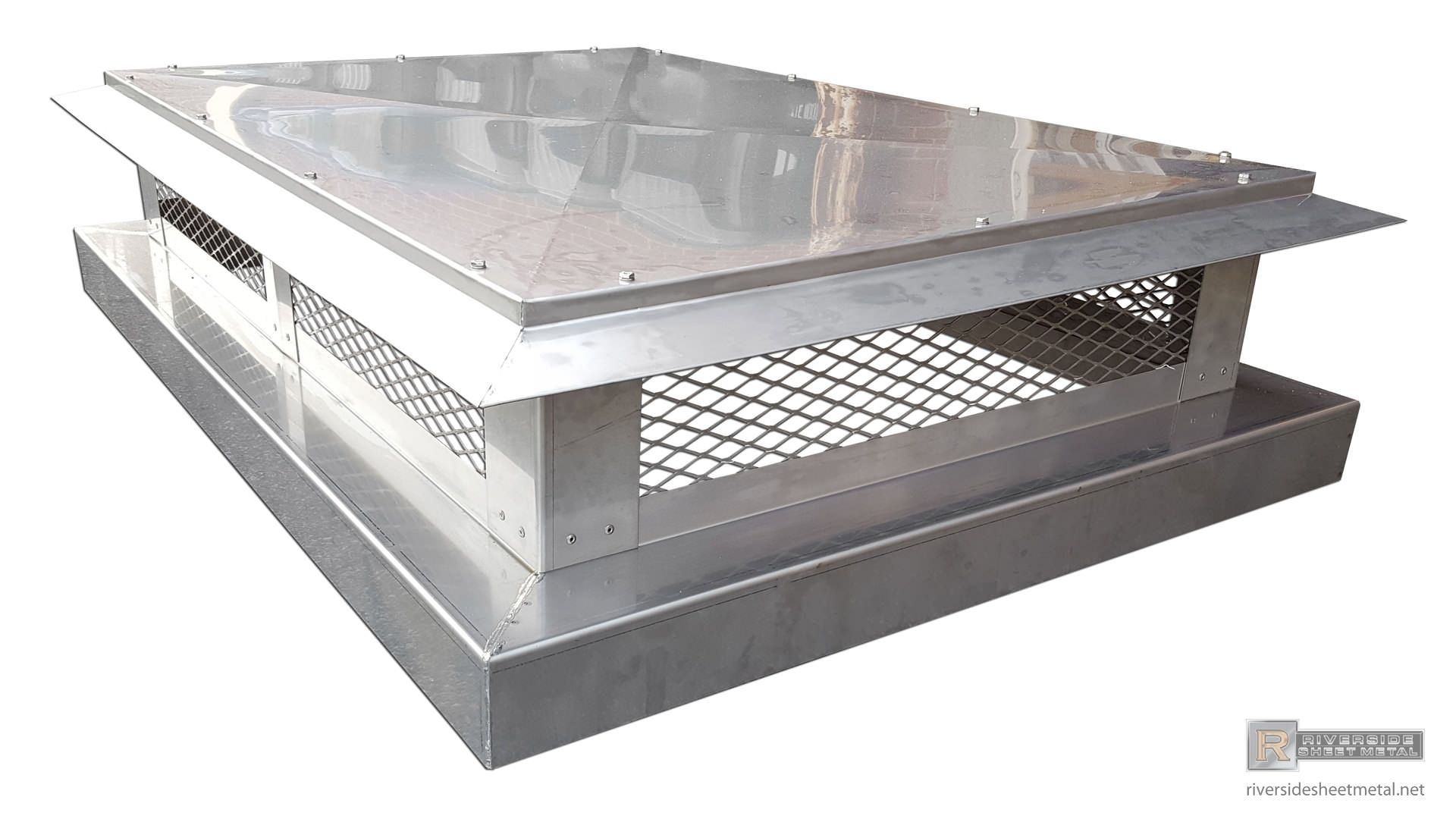 Stainless Steel Chimney Cap With Angled Detailed Roof Ch001 Chimney Cap Metal Roofing Prices Roof Cap