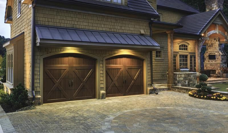 25 Garage Door Design Ideas Barn Style Garage Doors Carriage Style Garage Doors House Exterior