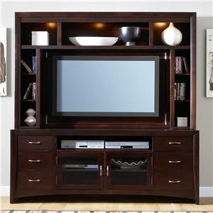 New Generation Contemporary Entertainment Center With Mountable By Liberty Furniture With Images Liberty Furniture Entertainment Center Contemporary Entertainment Center