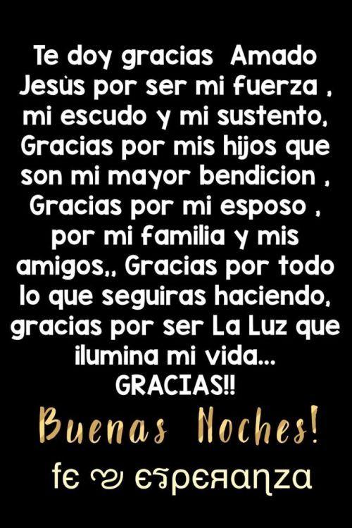 Postales De Buenas Noches Http Videoswatsapp Com Imagenes Postales De Buenas Noches 259 Videowatsapp Noches Suenos God Prayer Spanish Prayers Prayers