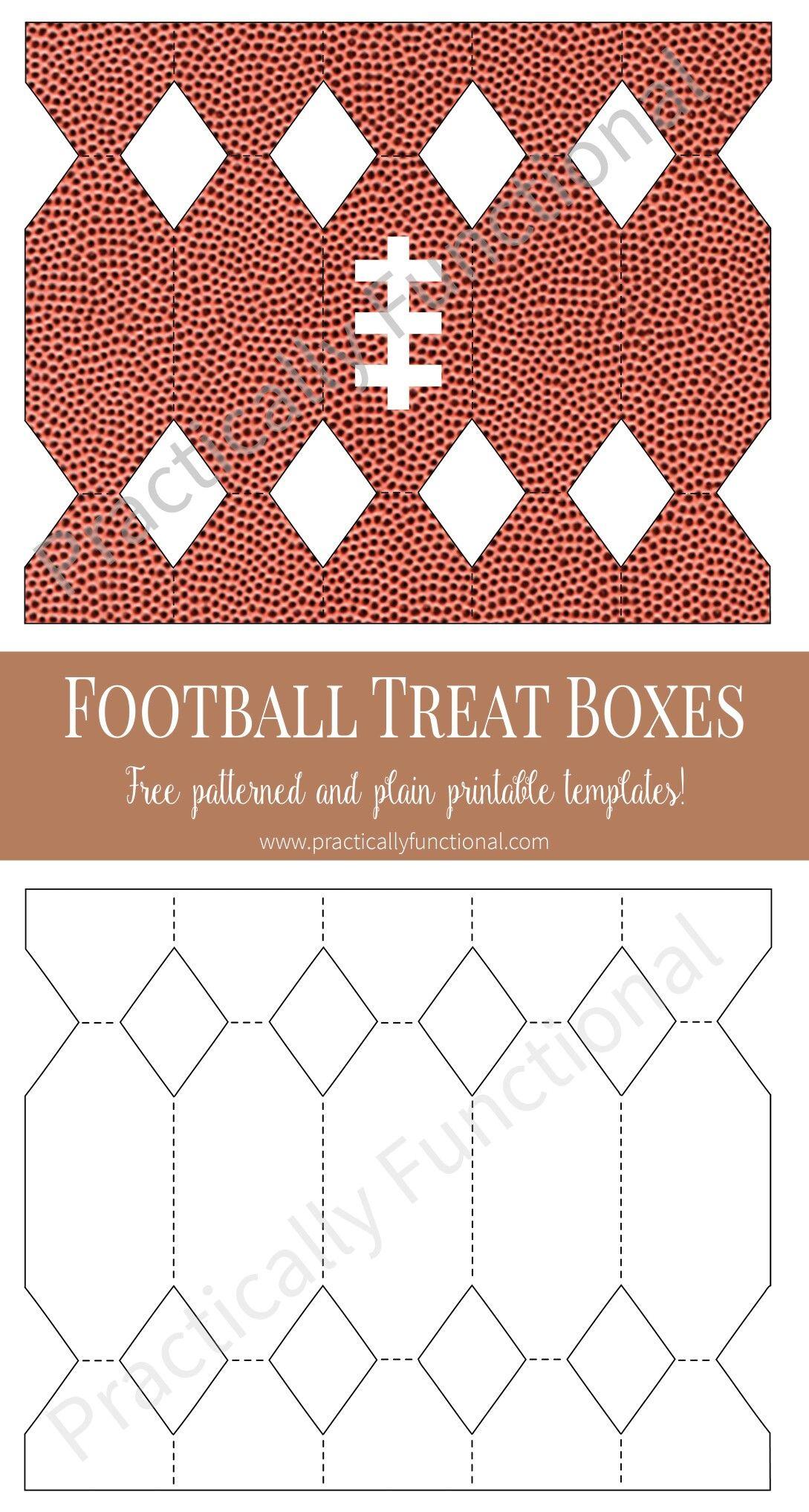 Caja caramelo. Balón de fútbol americano. (Rugby) | cajas y kits ...