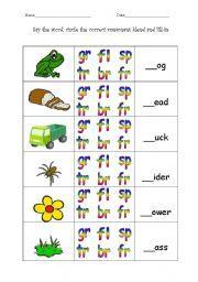 Consonant Blend Worksheets | All Kids Network