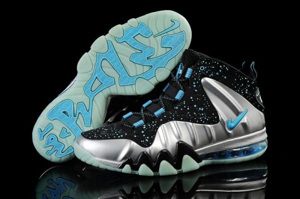 Nike Charles Barkley CB Posite Max 76ers Night Light Silver/Moon shoes I  like the