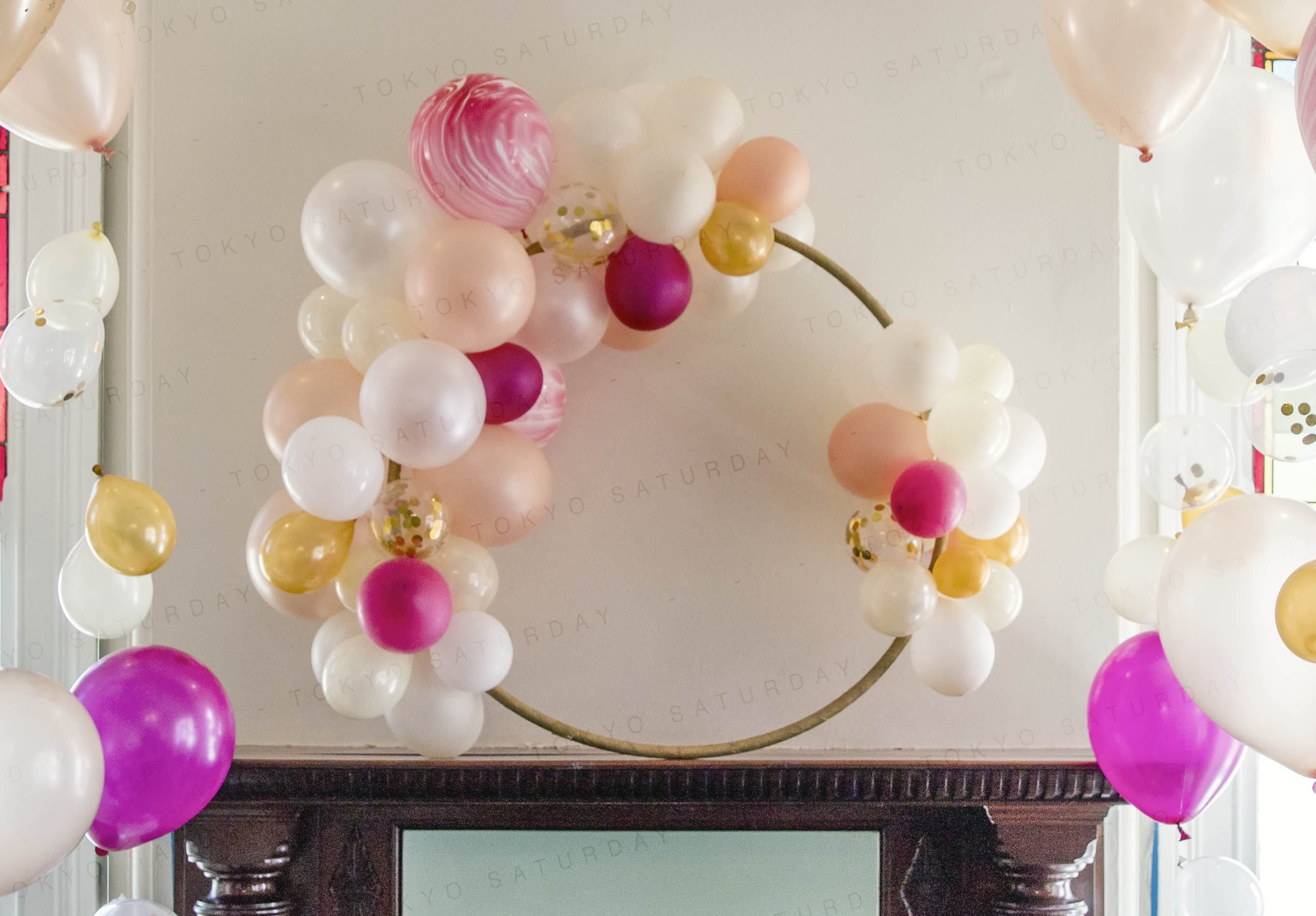 Image result for hula hoop wreath | Sarah's 40th Birthday in 2019