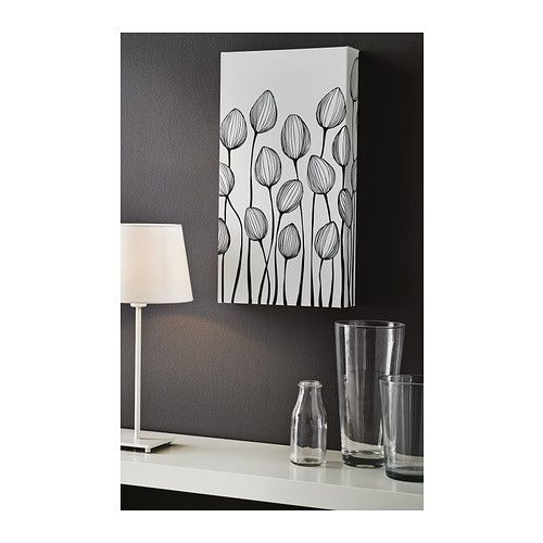 LERKIL Picture IKEA Motif created by Natasha Krajachec. The picture has extra depth and life because it's printed on high quality canvas...