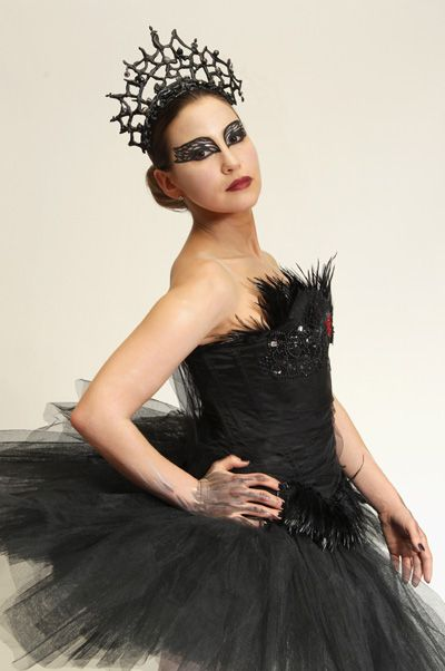 """Not for the faint of heart, but this ambitious costume would be well worth the effort. Between the dramatic makeup and fanciful feathers, a costume based on """"Black Swan"""" is the perfect combination of creepy and sexy that Halloween is all about."""