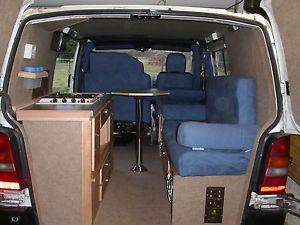 Mercedes benz small van camper vito campervan for Kit trasformazione furgone in camper