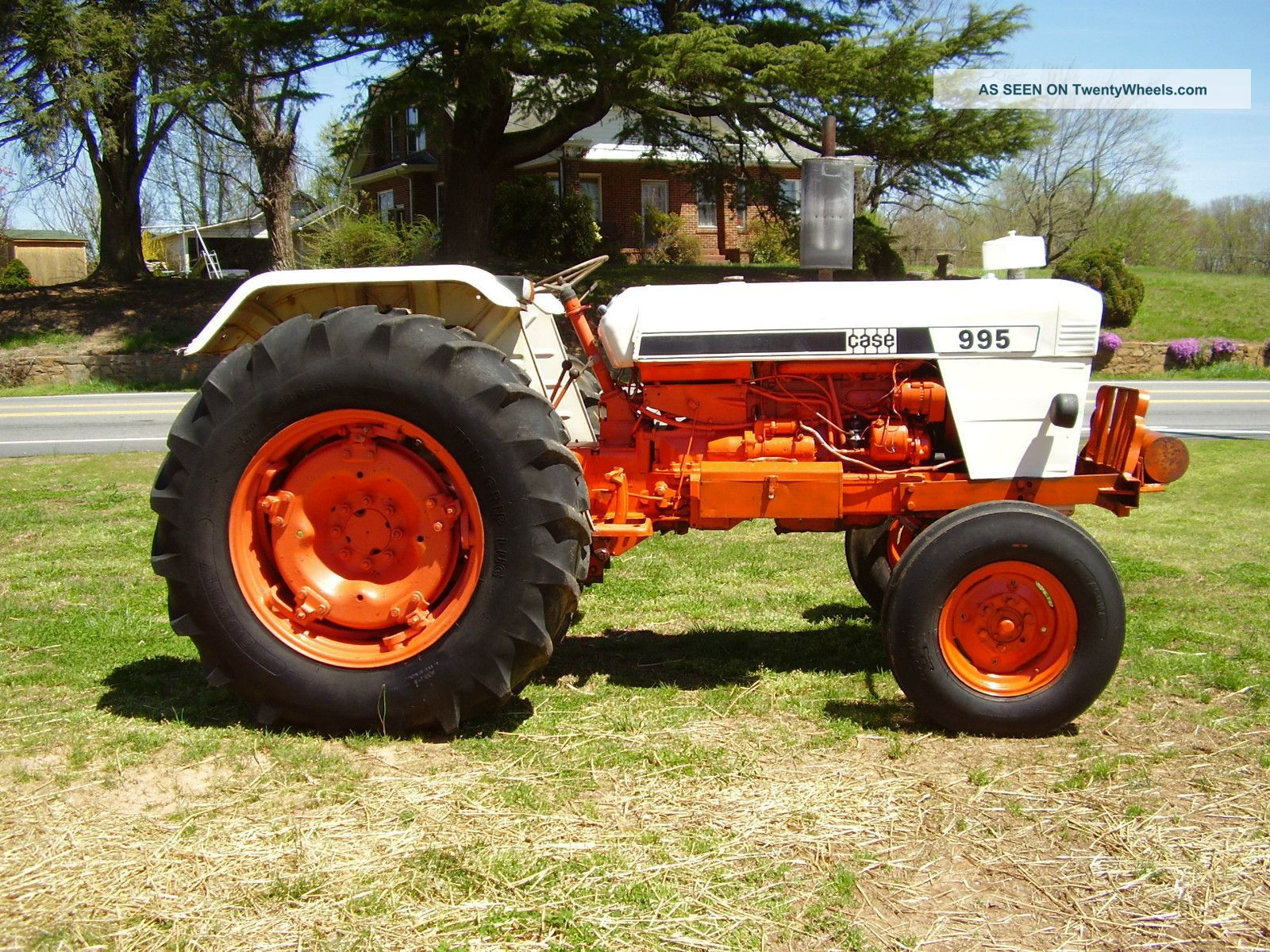 995 case david brown 2 wd diesel tractor 64 hp photos and info twentywheels
