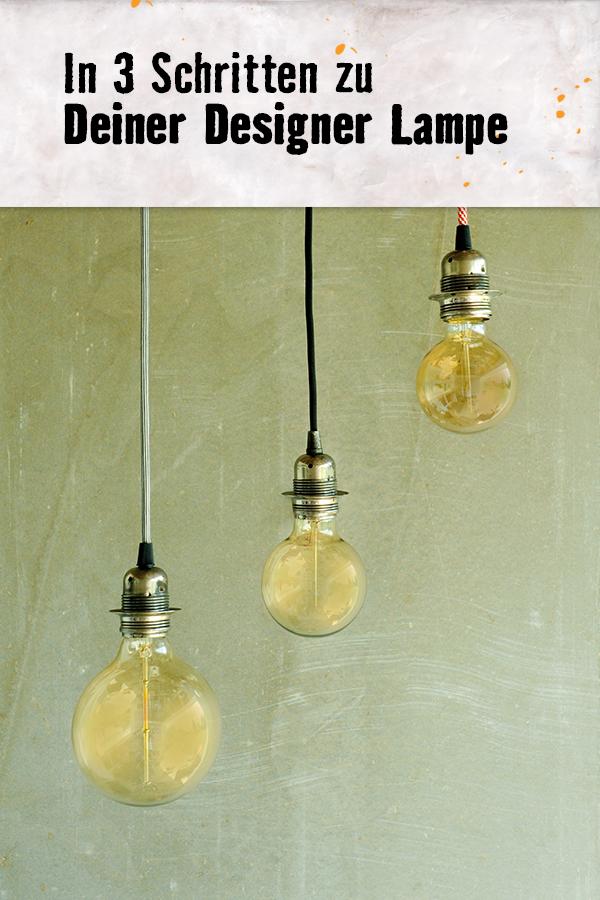 Gluhbirne Fassung Und Kabel Fertig Ist Die Minimalistische Lampe Im Industrie Design Look Hier Findest Du Lampe Selber Bauen Licht In Der Dunkelheit Lampe