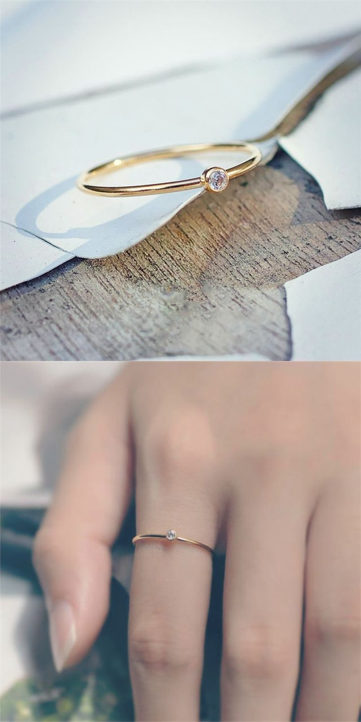 Photo of Crystal Simple Ring