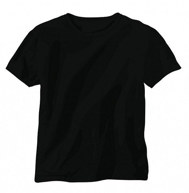 T Shirt Plain Black T Shirt Shirt Template T Shirt Design Template