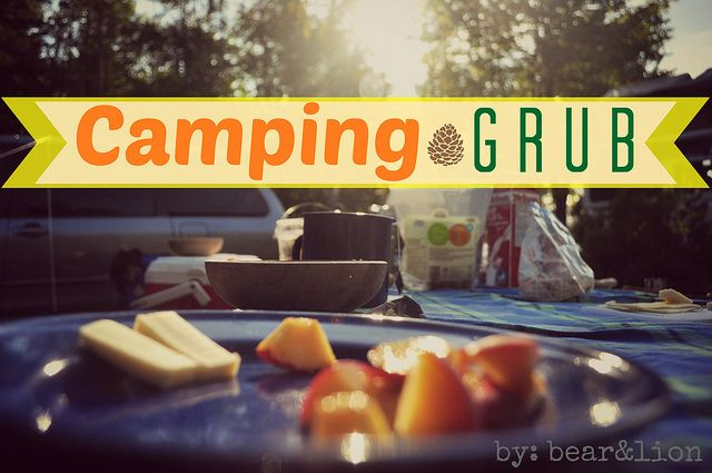 Camping Food Tips and Ideas.