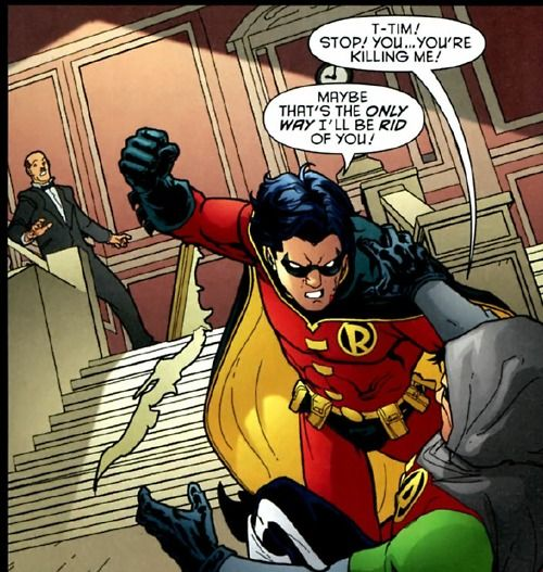 Tim Drake Vs Damien Wayne New 52