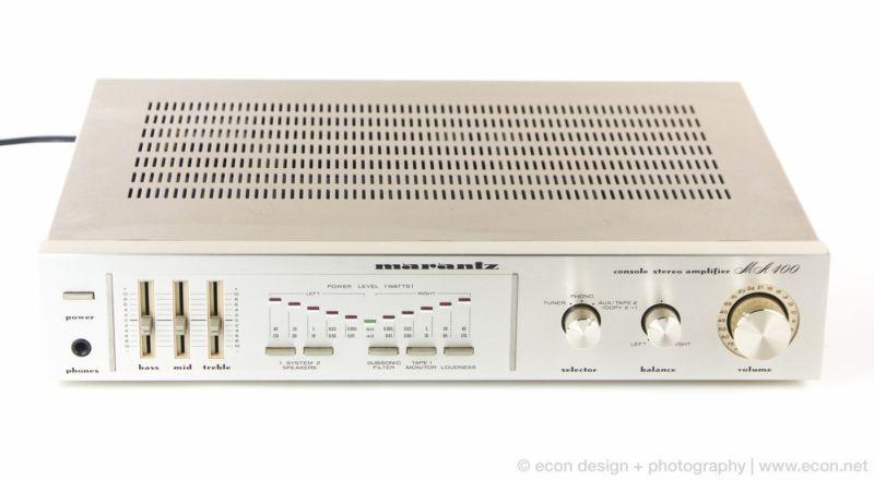 Mint vintage marantz ma400 console stereo amplifier phono in