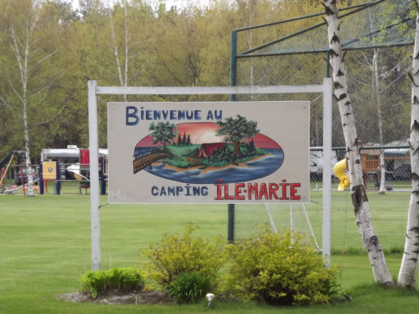 Camping Ile Marie at Sherbrooke, Quebec, Canada - Passport America Discount Camping Club