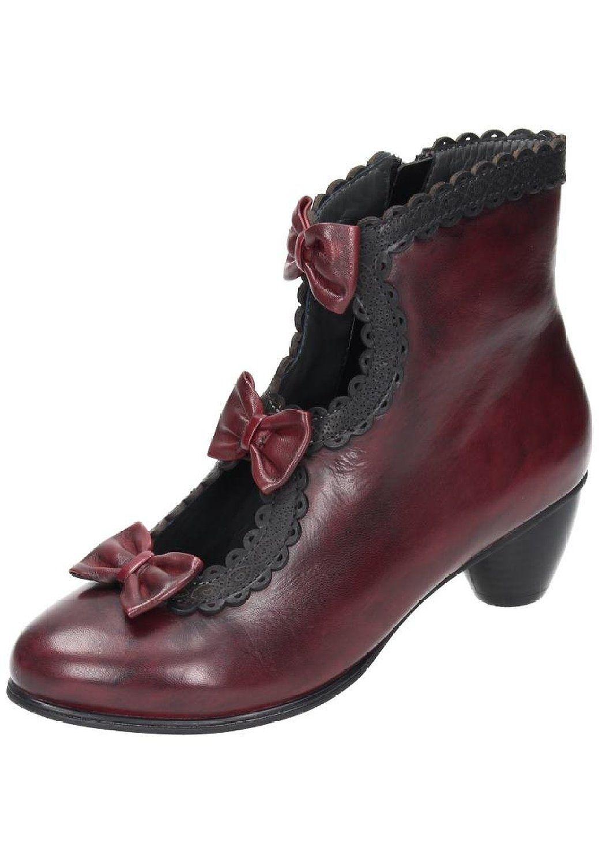 7ebb99a5aed0c Everybody bottines femme rouge/noir): Amazon.fr: Chaussures et Sacs ...