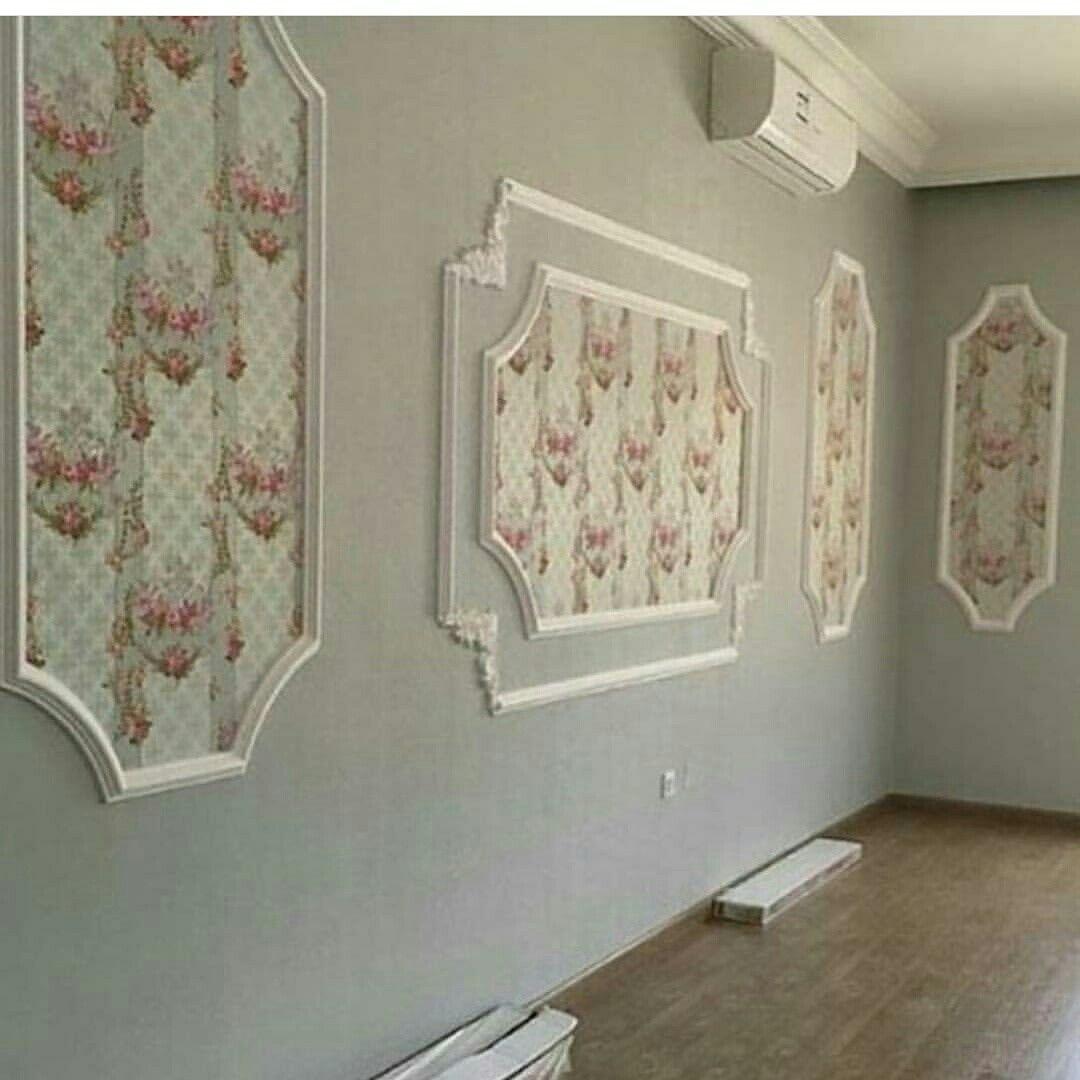 لدينا كل ما هو جديد في عالم الديكورات الراقيه الحديثه وورق الجدران والارابيسك والمناظر ثلاثية الابعاد 3d س Wall Decor Bedroom Ceiling Design Room Decor Bedroom