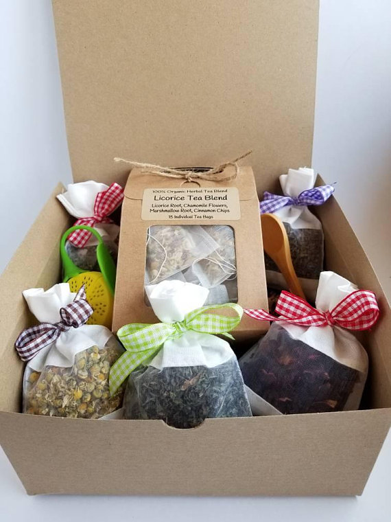 Tea Gift Set Tea Gifts Gift Box For Women Tea Gift Basket
