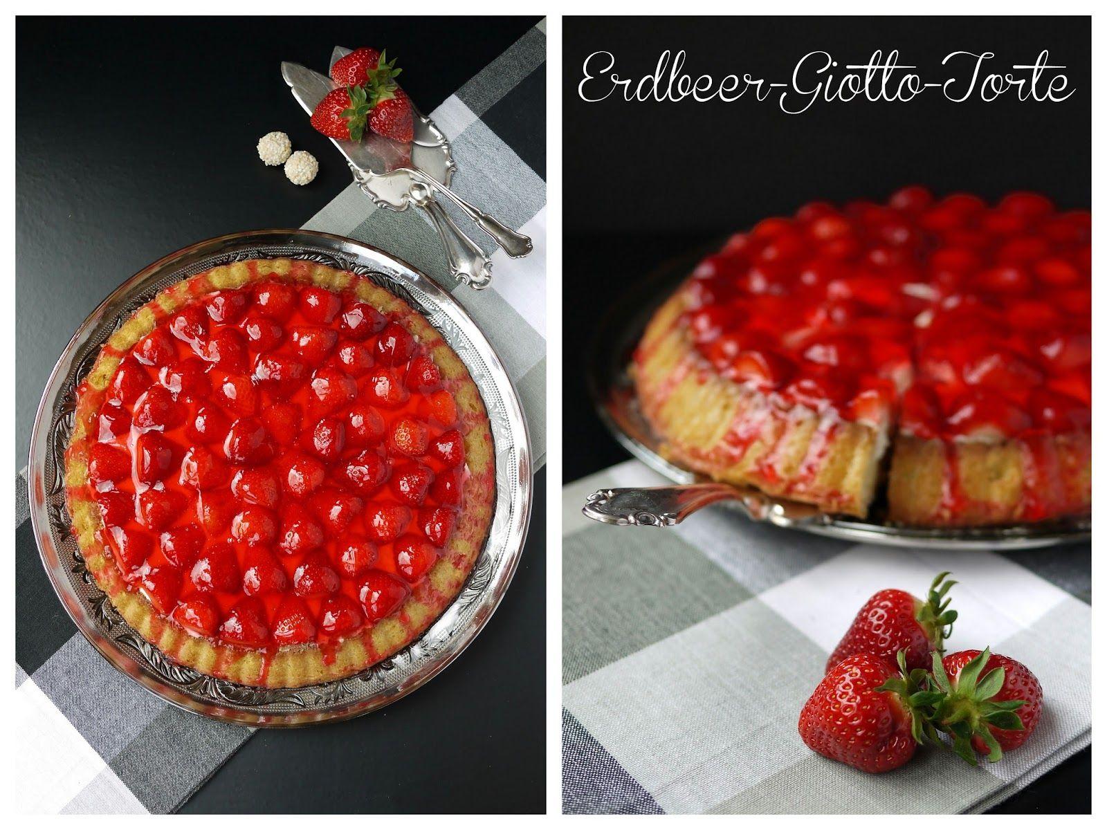 Experimente aus meiner Küche: Erdbeer-Giotto-Torte #ichbacksmir