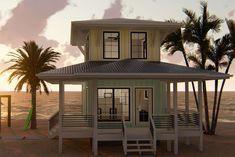 Coastal House Plan 963