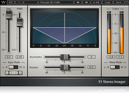 S1 Stereo Imager in 2019 | my waves | Waves plugins, Waves audio, Audio