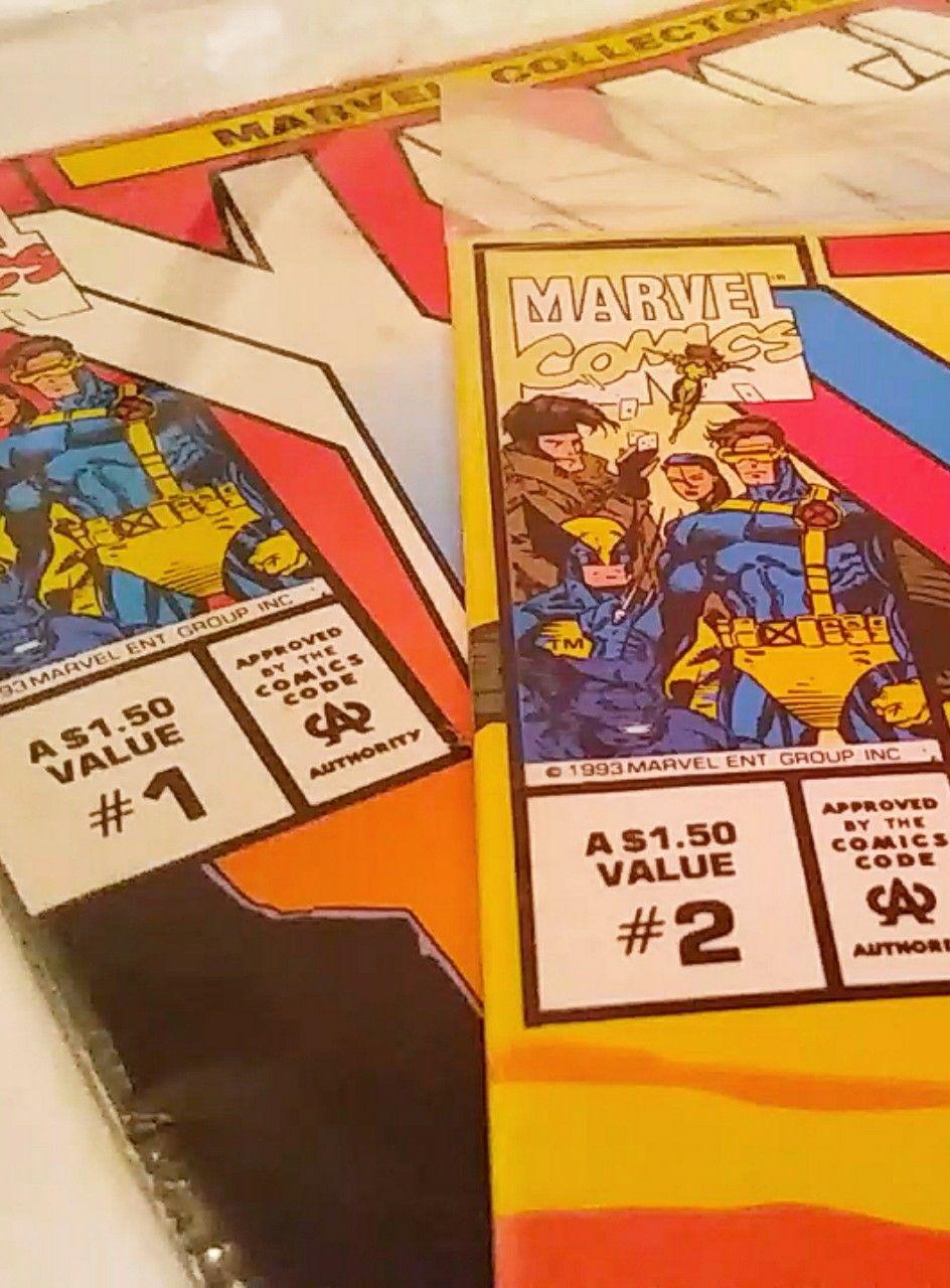 X Men 1 2 Unopened 1993 Marvel Comics Mercari In 2020 Marvel Marvel Comics Comics