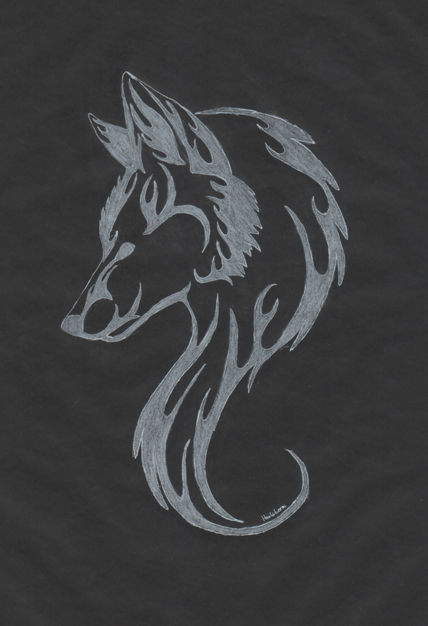 White Wolf Tattoo By Themetasepia Considering Getting A Small Wolf Tattoo White Wolf Tattoo Wolf Tattoo Tattoos