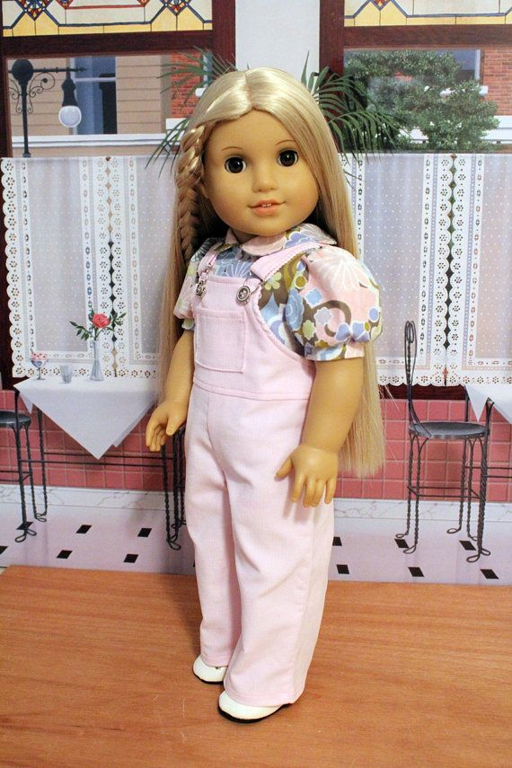 Overalls and Blouse for 18 Inch Dolls by BabiesArtUs on Etsy ...