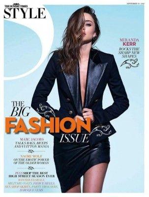 Miranda Kerr for The Sunday Times Style Magazine September 2012
