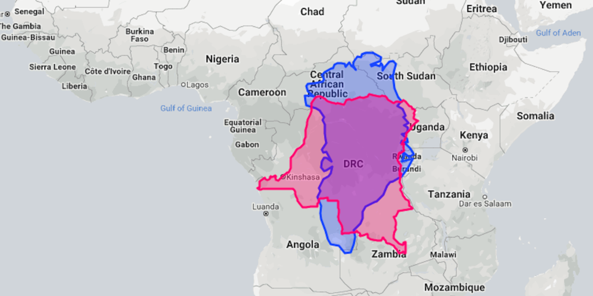 You can now drag and drop whole countries to compare their